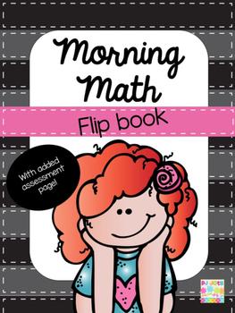 Morning Math & Assessment Flip Book