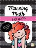 Morning Math & Assessment Flip Book