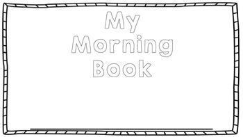 Morning Math Book