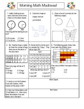 Morning Math Madness #2