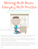 Morning Math Mania: Everyday Math Practice