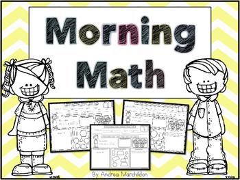 Morning Math Mats