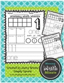 Morning Math Minute Quick Math Activities for the Primary Classroom