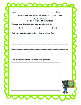 Morning Math: Operations and Algebraic Thinking/Numbers and Base Ten Operations