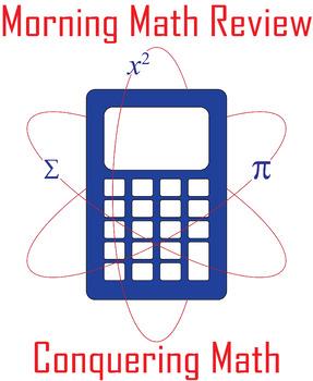 Morning Math Review - Bundle 1