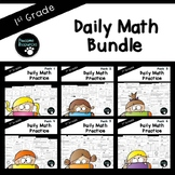 First Grade Daily Math (6 Pack Bundle)