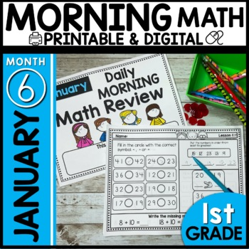 Morning Math Review (JANUARY)