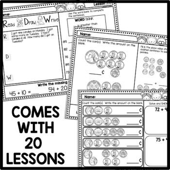 Morning Work First Grade Math | May