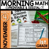 Morning Work First Grade | NOVEMBER
