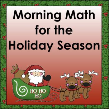 Morning Math: Santa's Workshop