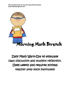 Morning Math Stretch