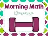 Morning Math Warmup
