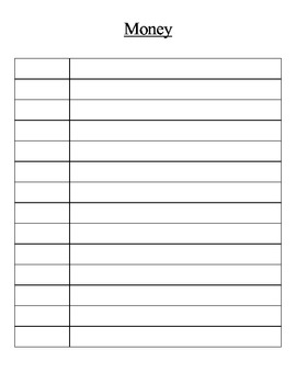 Morning Math (calendar, money, weather)
