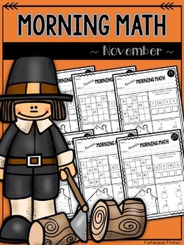 Morning Math for November