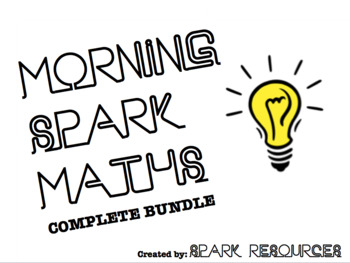 Morning Maths Activities - Complete Bundle (Year 2, 3, 4 & 5)