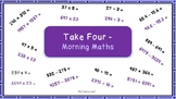Morning Maths Arithmetic Starter - All Four Operations Flu
