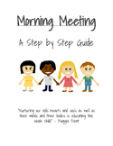 Morning Meeting: A Step by Step Guide