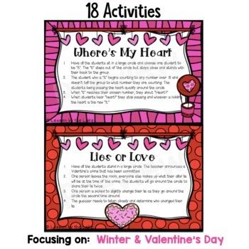 Morning Meeting Activities Digital Slides- February