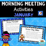 Morning Meeting Activities~ January Winter Edition