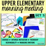 Morning Meeting Activities Print Digital Morning Meeting G