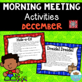 Morning Meeting Activities ~ Winter Holiday Edition