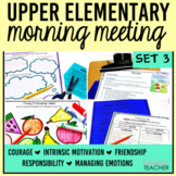 Morning Meeting Activities with Themes in Literature Set 3 BUNDLE