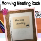 Morning Meeting Book Printable for Calendar Emotions Weather Seasons And More