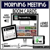 Morning Meeting Boom Cards Activity