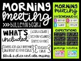 Morning Meeting Bulletin Board Kit