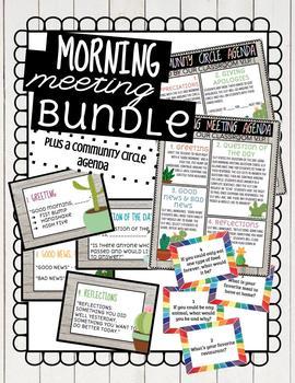 Morning Meeting Bundle!
