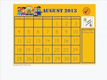 Morning Meeting - Calendar Math 2013-2014 ***Calendar Add-Ons***