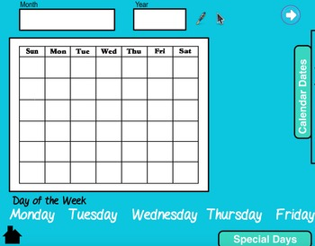 Morning Meeting Calendar Time- Special Education or Early Education
