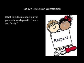 CPR Morning Meeting Character Education PowerPoint