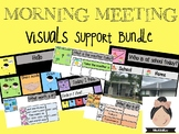 Morning Meeting/Circle Visual Support #spedprepsummer1 #spedprep