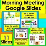 Morning Meeting Digital Distance Learning Circle Time Goog
