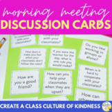 Morning Meeting Discussion Cards