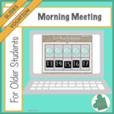 Morning Meeting: For Older Students with a Focus on Vocations