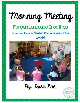 Morning meeting foreign language hellos by sprinkles to kindergarten morning meeting foreign language hellos m4hsunfo