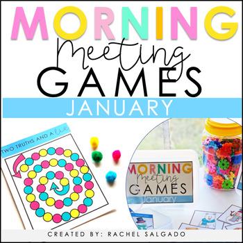 Morning Meeting Games: January