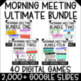 Morning Meeting Games and Activities | ULTIMATE BUNDLE