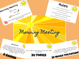 Morning Meeting Google Slides