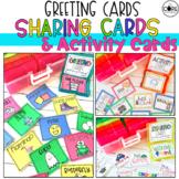 Morning Meeting Greeting, Activity, & Sharing Cards   printable and digital