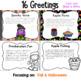 Morning Meeting Greeting Cards~ October