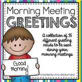 Morning Meeting Greetings