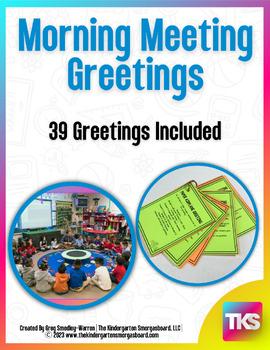 Morning meeting greetings by kindergarten smorgasboard tpt m4hsunfo