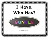 Morning Meeting I Have, Who Has Bundle