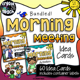 Morning Meeting Idea Cards Bundle