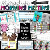 Morning Meeting Interactive Calendar PowerPoint