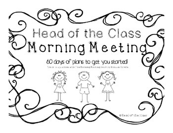 Morning Meeting Lesson Plans