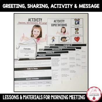 Morning Meetings {Building Classroom Community & Social Skills}